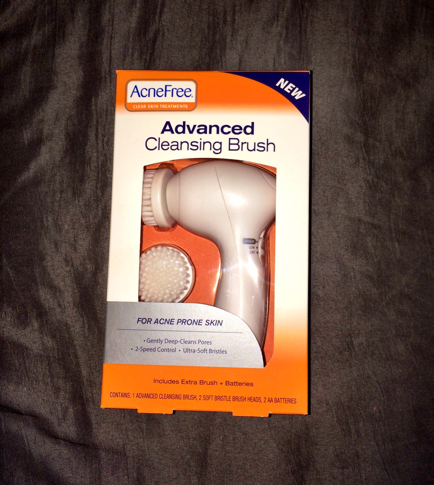 So Thats My Review Of The AcneFree Advanced Cleansing Brush Stop By A Target Or Store Near You And Grab One To Try Youll Be Glad Did